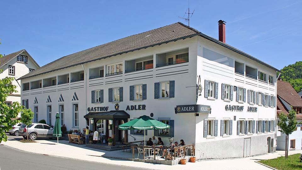 Ansicht Gasthof Adler Dettingen